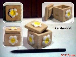 Tempat perhiasan kotak bunga
