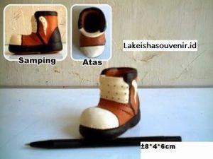 souvenir Tempat tusuk gigi sepatu
